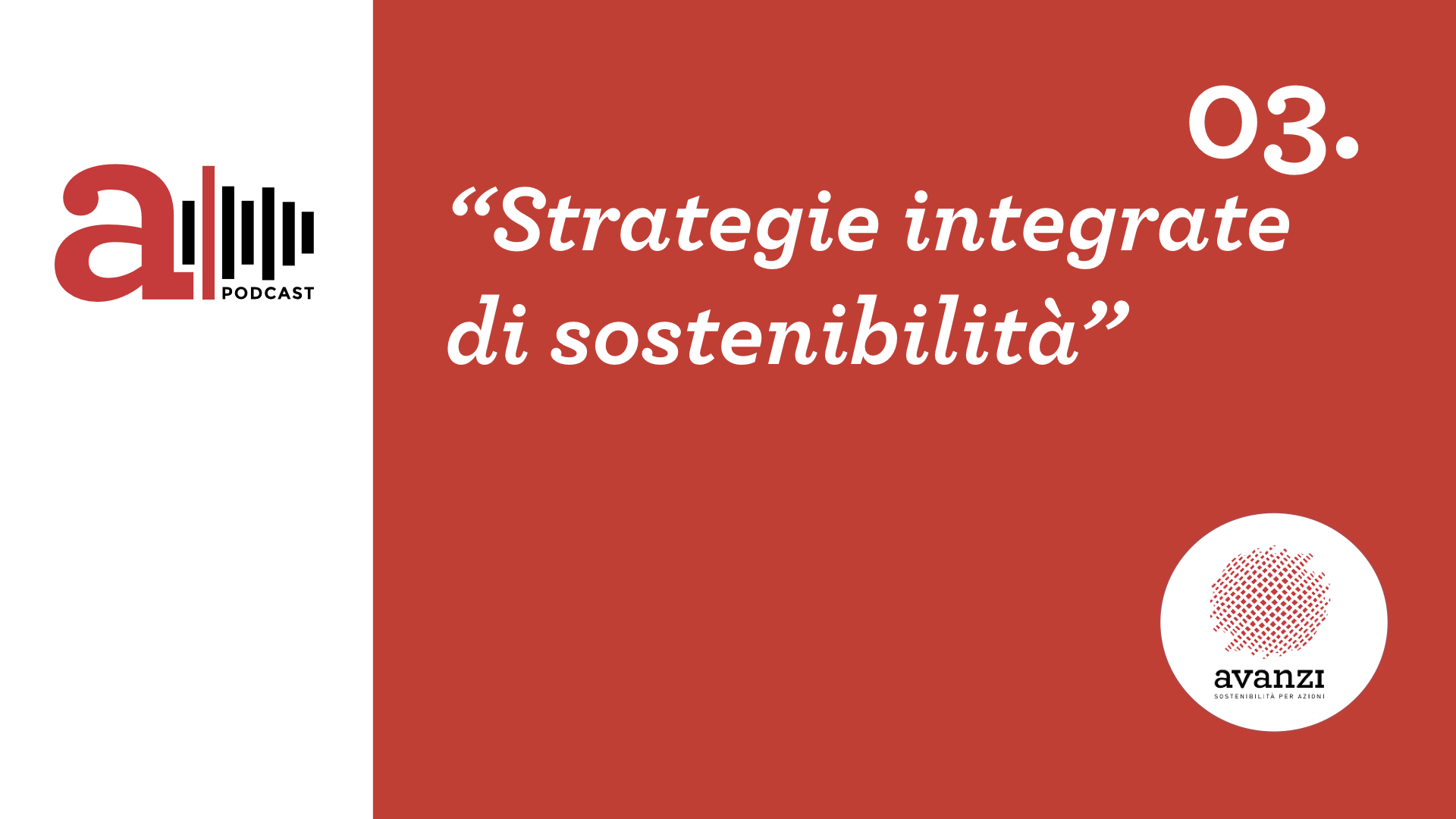 Strategie Integrate di sostenibilità